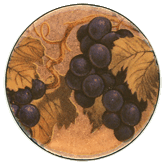 Grapes Double On Copper